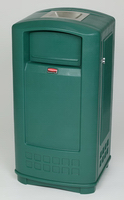 View: 9P91 Plaza Jr. Container with Ashtray Top (35 Gal)